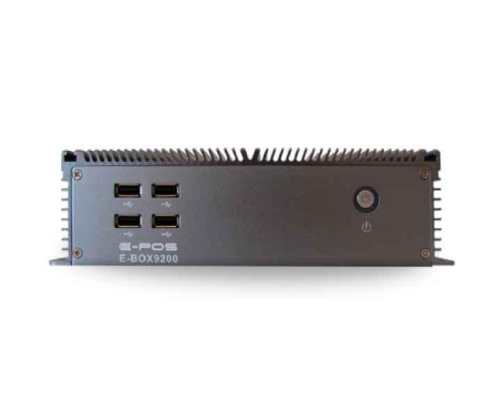 La E-BOX 9200 es una PC industrial de la Marca E-POS